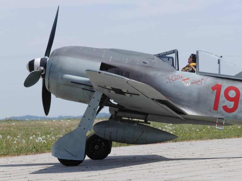 Focke Wulf FW-190 - Warbird-Modellbauservice
